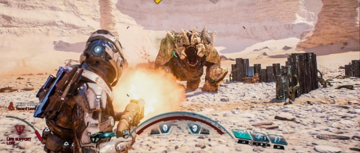 Nuevo tráiler de Mass Effect: Andromeda centrado en las armas y habilidades