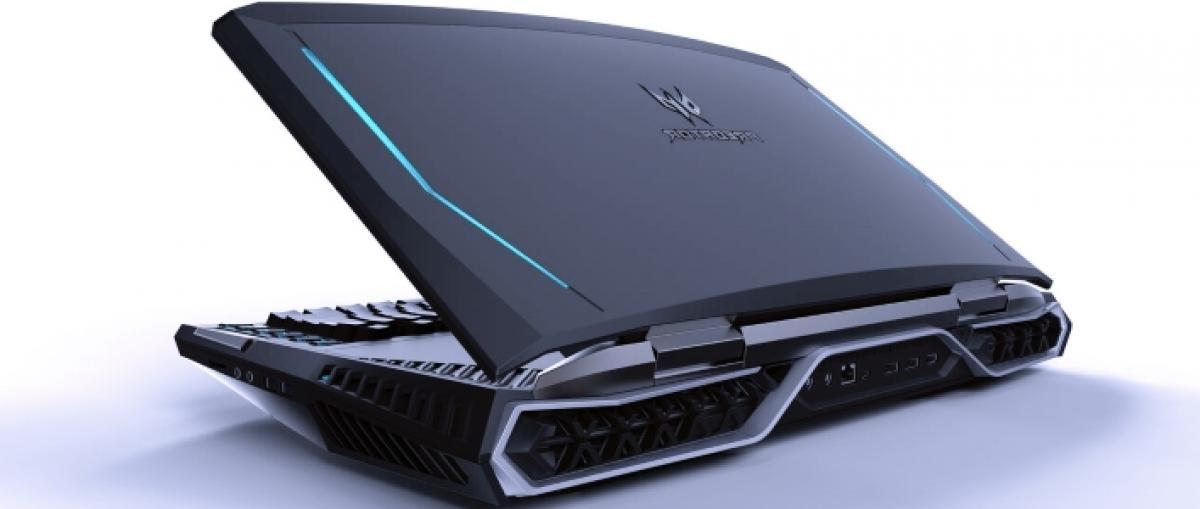 Acer presenta un portátil gaming con pantalla curva y uno ultraligero que mide menos de 1 cm