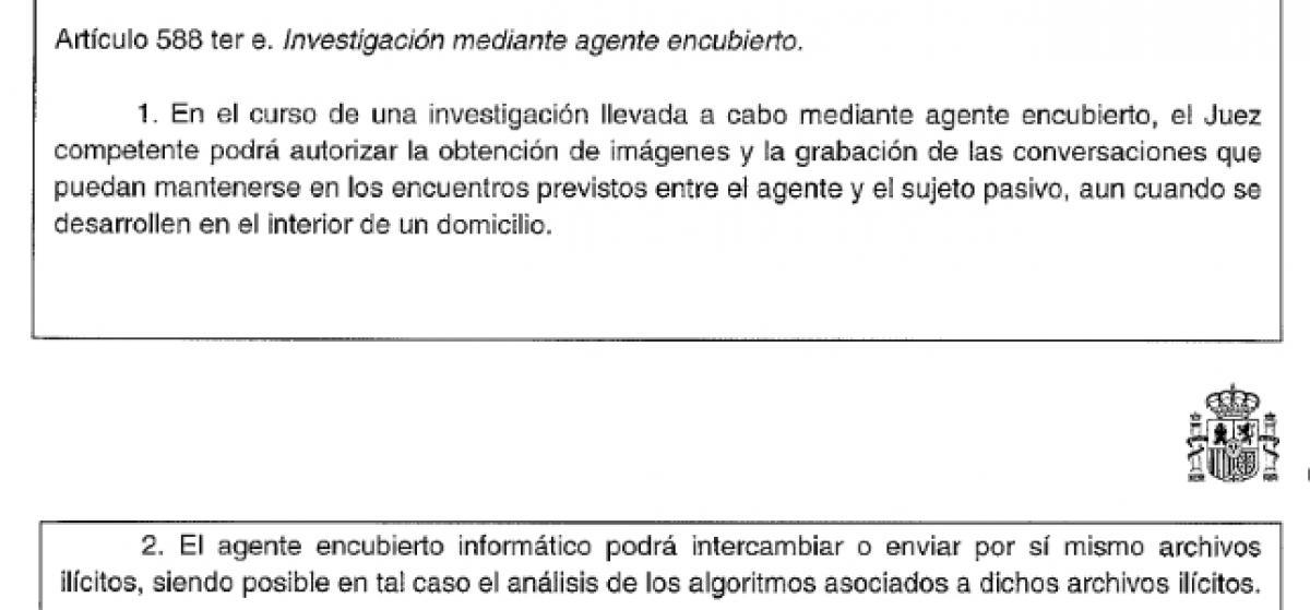 La Policía podrá compartir archivos ilegales en redes P2P para provocar delitos