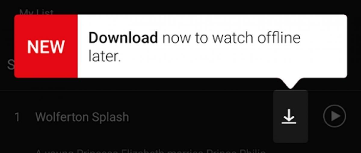Netflix ya permite descargar sus series y películas para verlas sin conexión a Internet