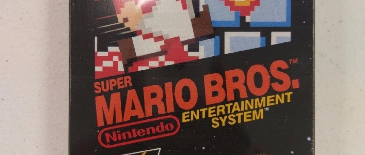 Una copia de Super Mario Bros. para NES alcanza los 30.000 dólares en una subasta