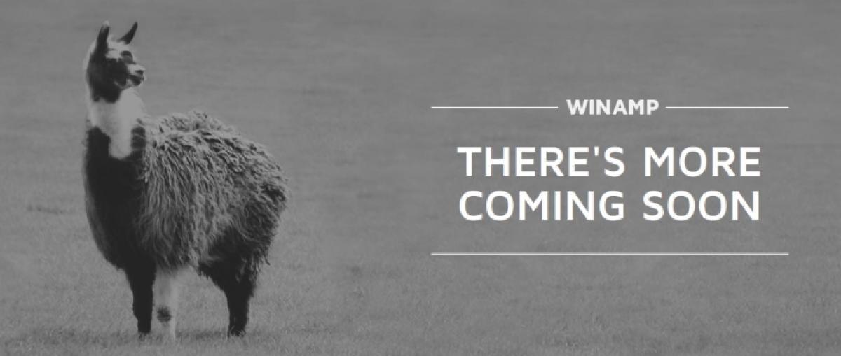 Winamp volverá a la vida en 2019 como un reproductor todo en uno para móviles