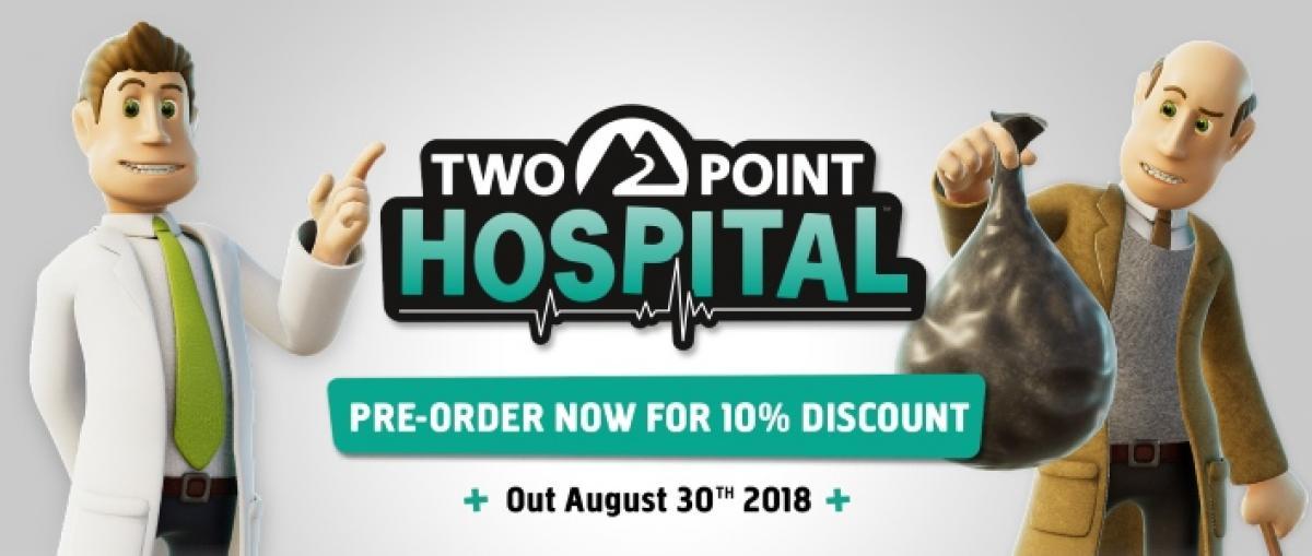 Two Point Hospital estará disponible el 30 de agosto
