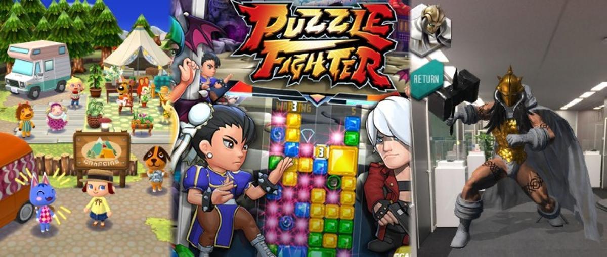 Novedades desde Japón para móviles: Animal Crossing, Puzzle Fighter, Shin Megami Tensei y más