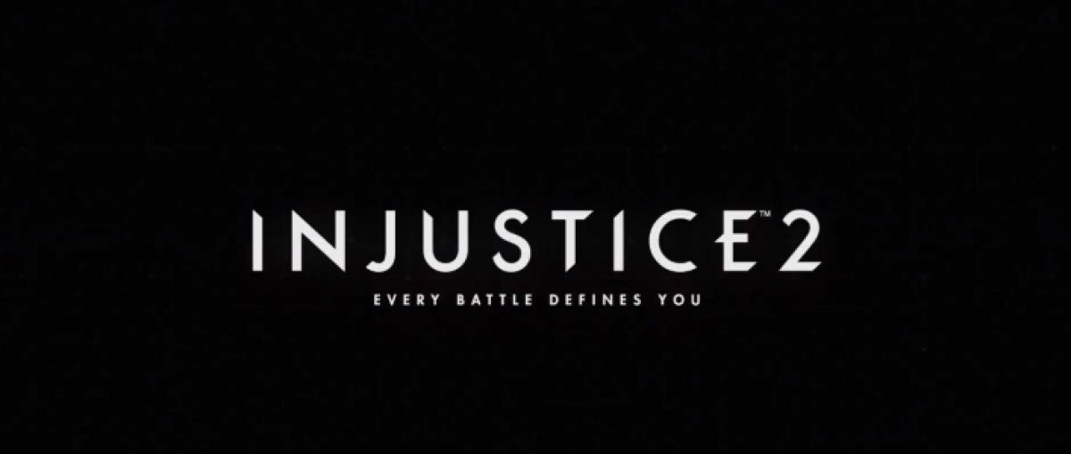 Primer gameplay tráiler de Injustice 2