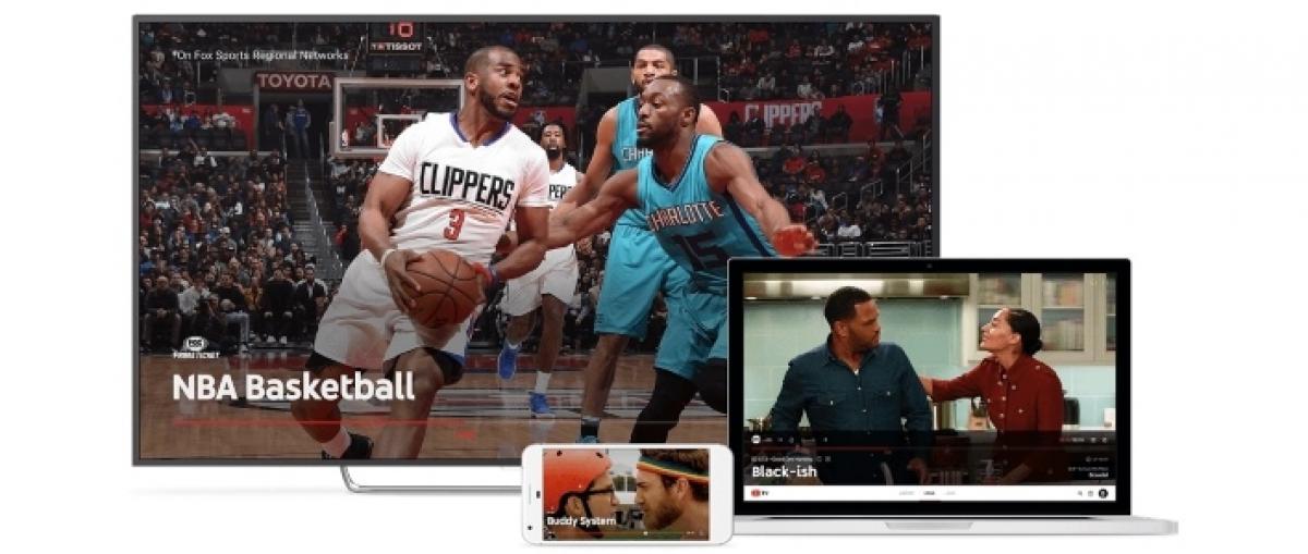 YouTube presenta su servicio de televisión vía streaming