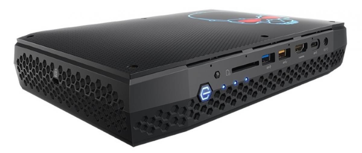 Intel presenta un NUC de altas prestaciones con gráficos RX Vega