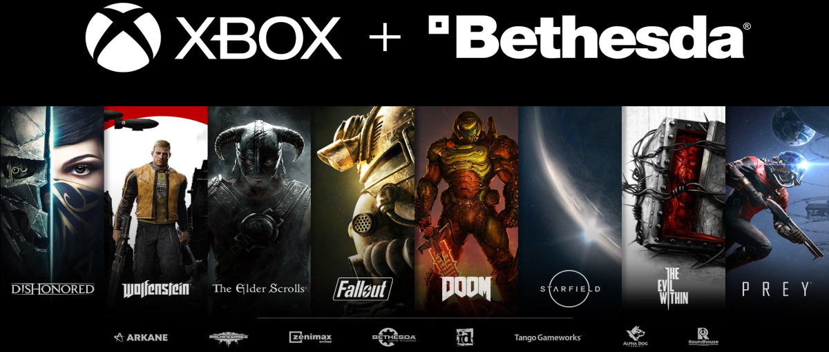 Microsoft compra Bethesda, responsable de The Elder Scrolls, Fallout, Wolfenstein, Doom, Dishonored y Quake