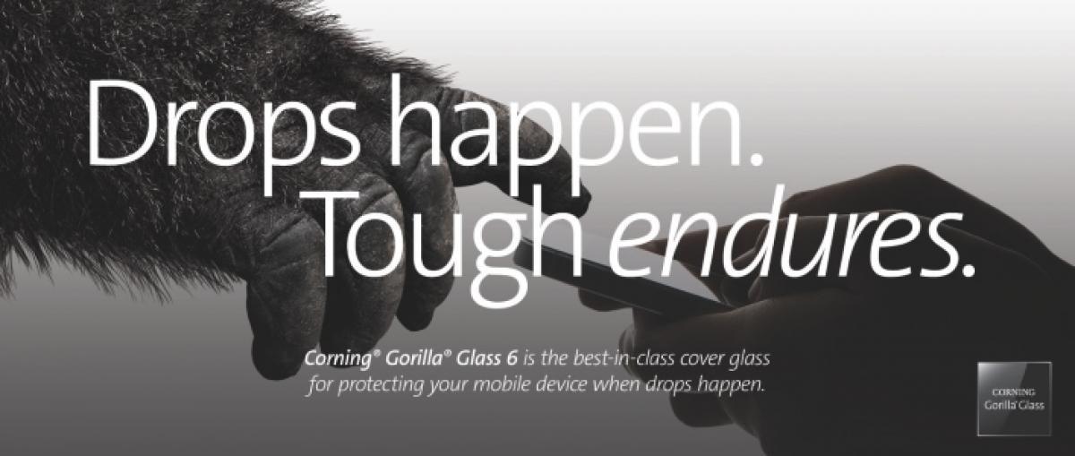 Corning presenta Gorilla Glass 6, un cristal diseñado para sobrevivir a múltiples caídas