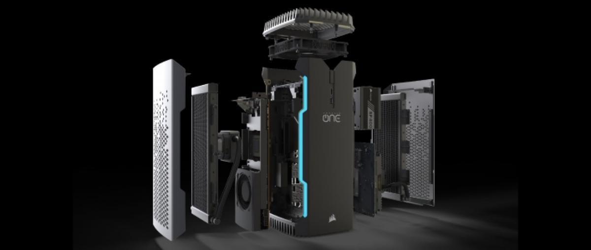 Corsair lanza su primer ordenador completo para juegos y realidad virtual
