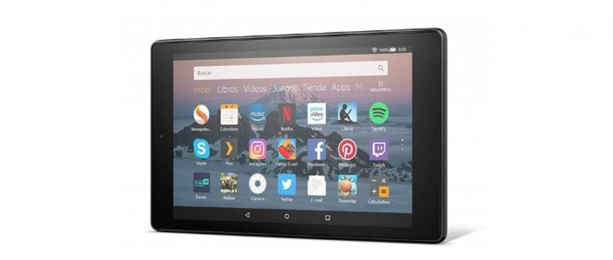 Amazon actualiza la tableta Fire HD 8, que baja a 99 euros