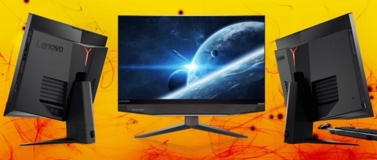 Lenovo presenta un ordenador y un todo-en-uno de altas prestaciones con GTX 1080