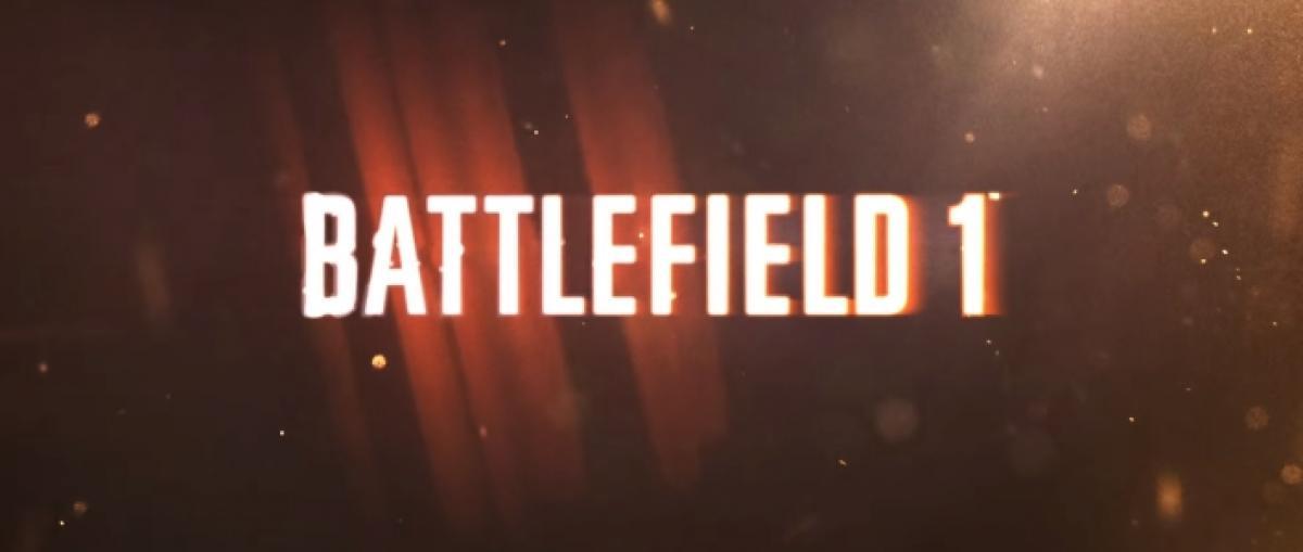 EA anuncia Battlefield 1