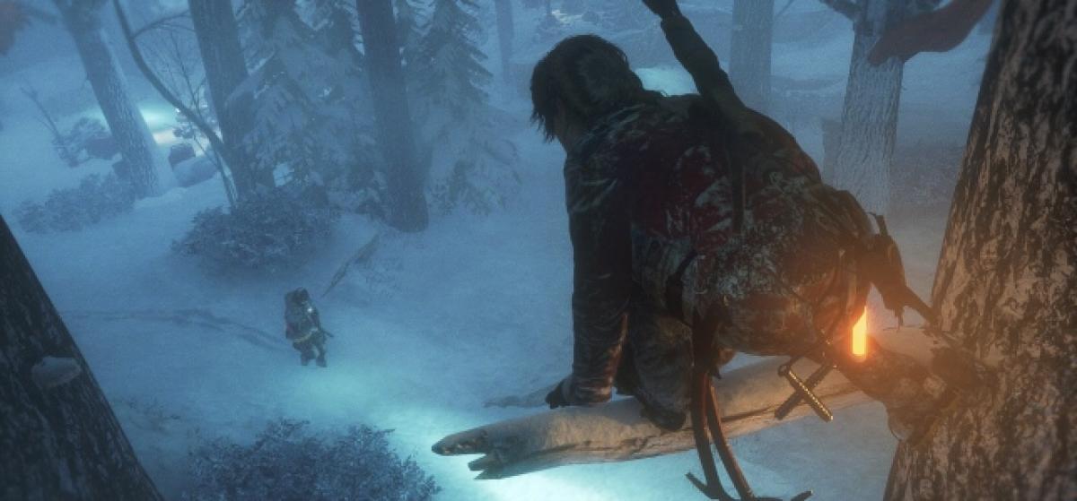 Rise of the Tomb Raider muestra cómo se puede jugar de forma sigilosa