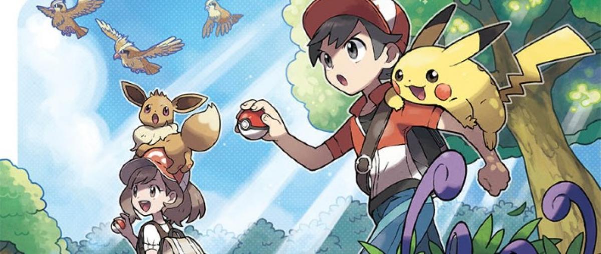 Nuevos detalles sobre Pokémon: Let's Go incluyendo el sistema de captura y combate