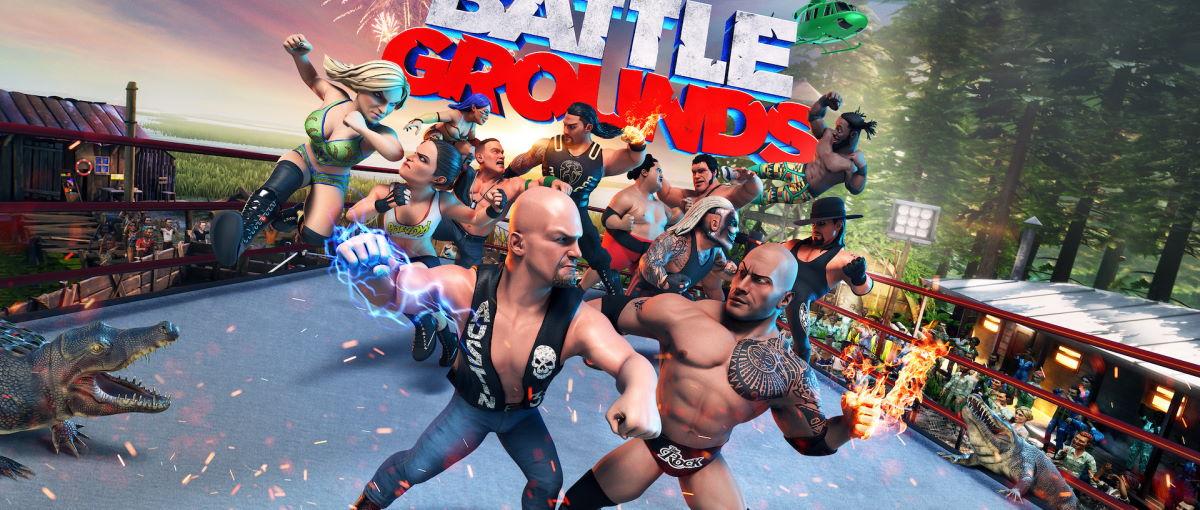 WWE 2K Battlegrounds se pondrá a la venta el 18 de septiembre