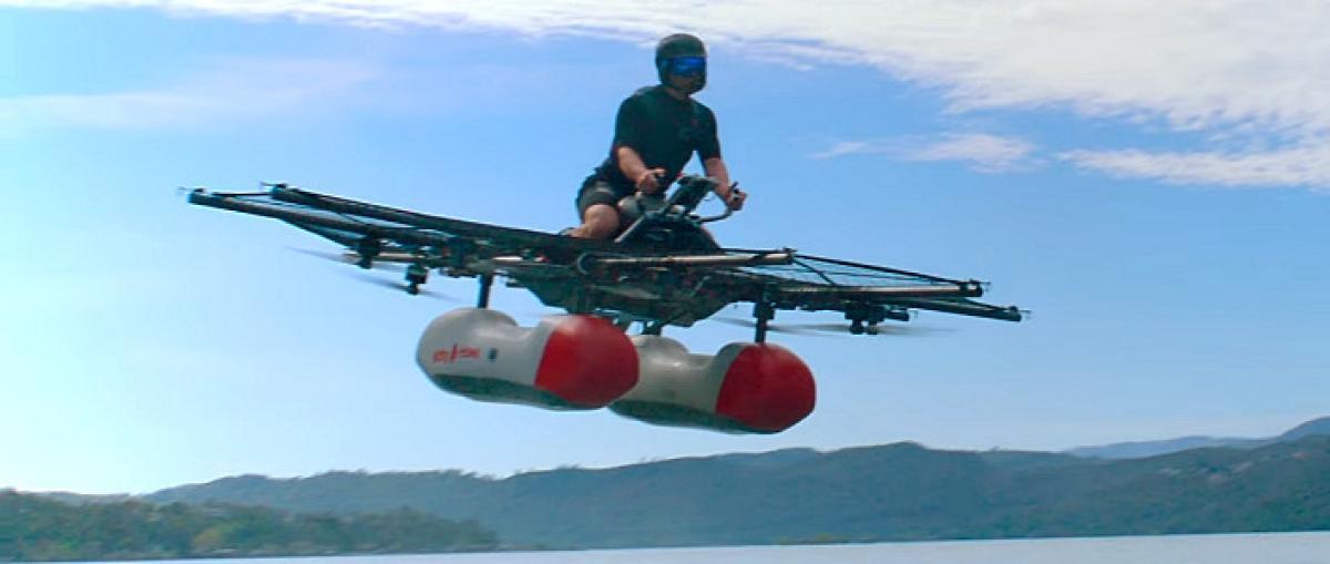 """Primer vídeo del Kitty Hawk Flyer, el """"coche volador"""" financiado por Larry Page"""