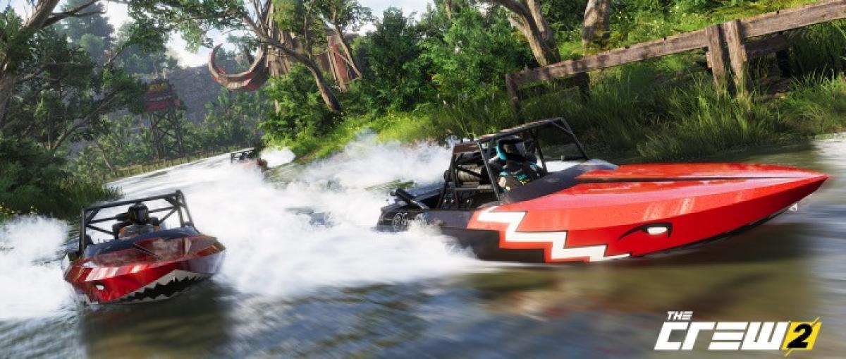 Ubisoft presenta The Crew 2, ahora con coches, motos, aviones y barcos