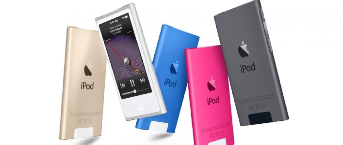 Apple pone fin a los iPod nano e iPod shuffle