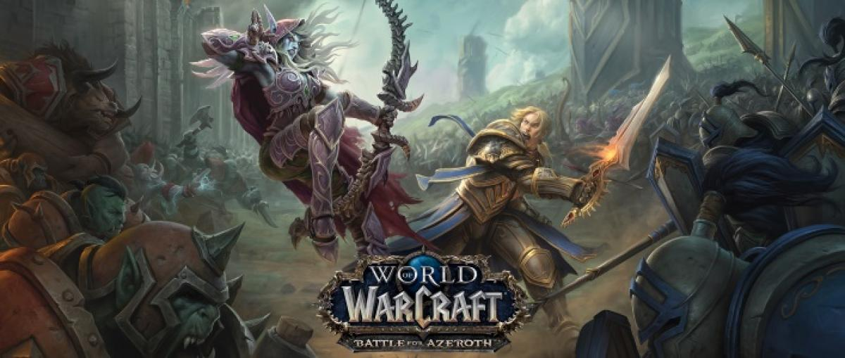 Blizzard anuncia la expansión Battle for Azeroth para World of Warcraft