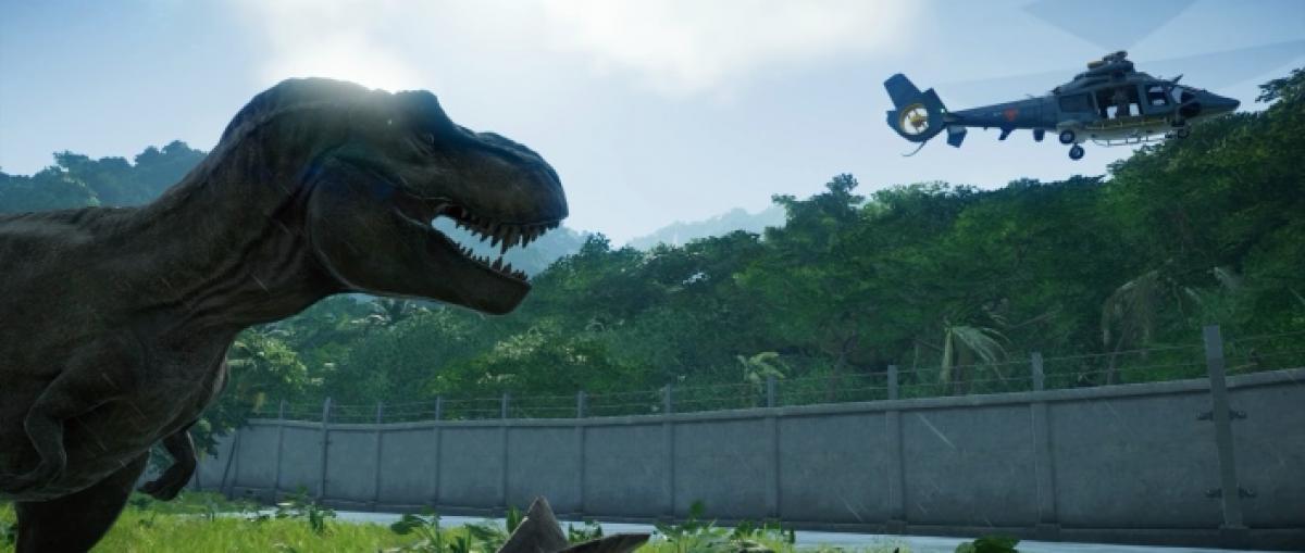 Jurassic world evolution abrir sus puertas el 12 de junio for Puerta jurassic world