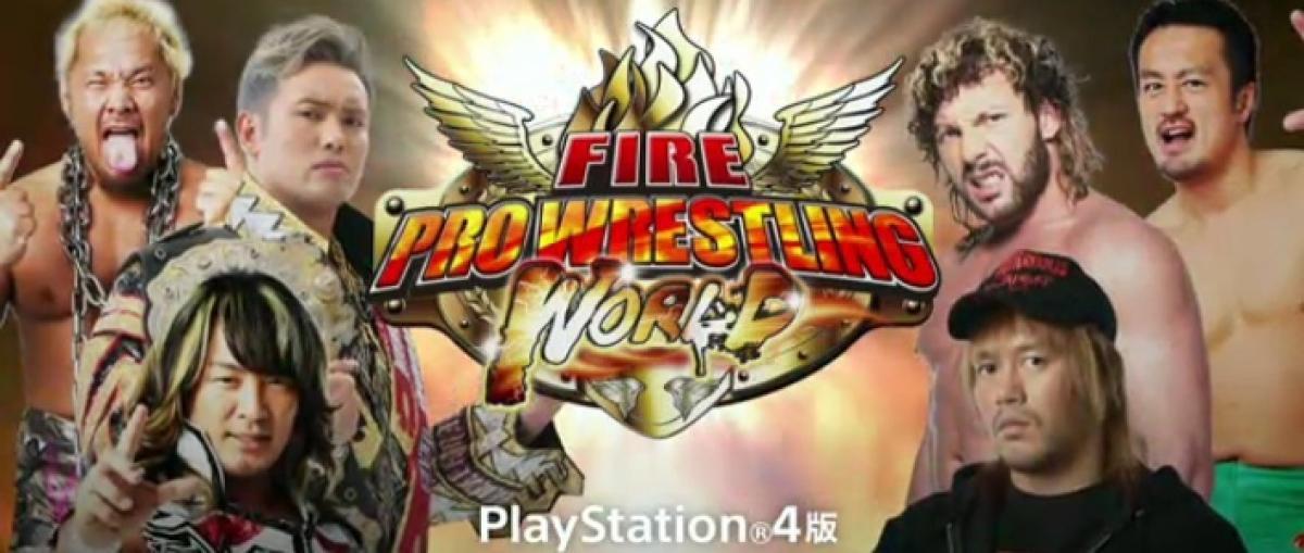 Fire Pro Wrestling World llegará también a PS4 en verano y alcanza un acuerdo con la liga japonesa