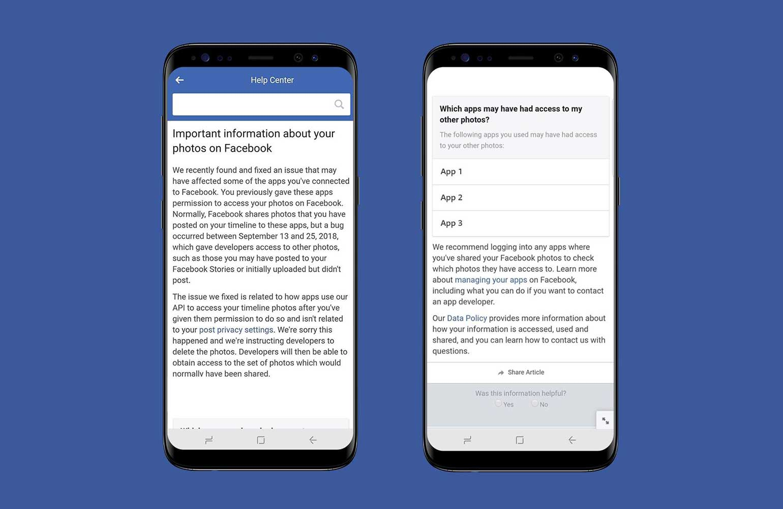 Facebook descubre error y da acceso a fotos de millones de usuarios