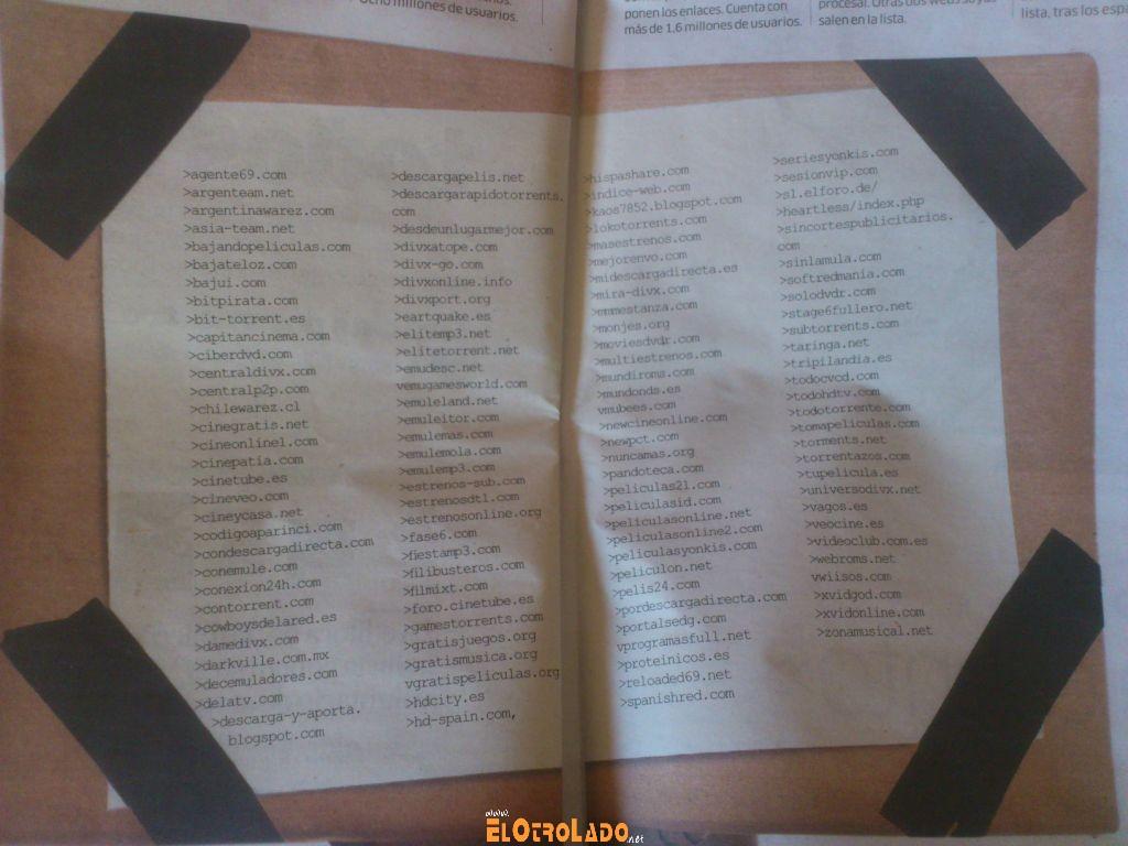 Las primeras 122 páginas que denunciará la Ley Sinde 090112192536_0