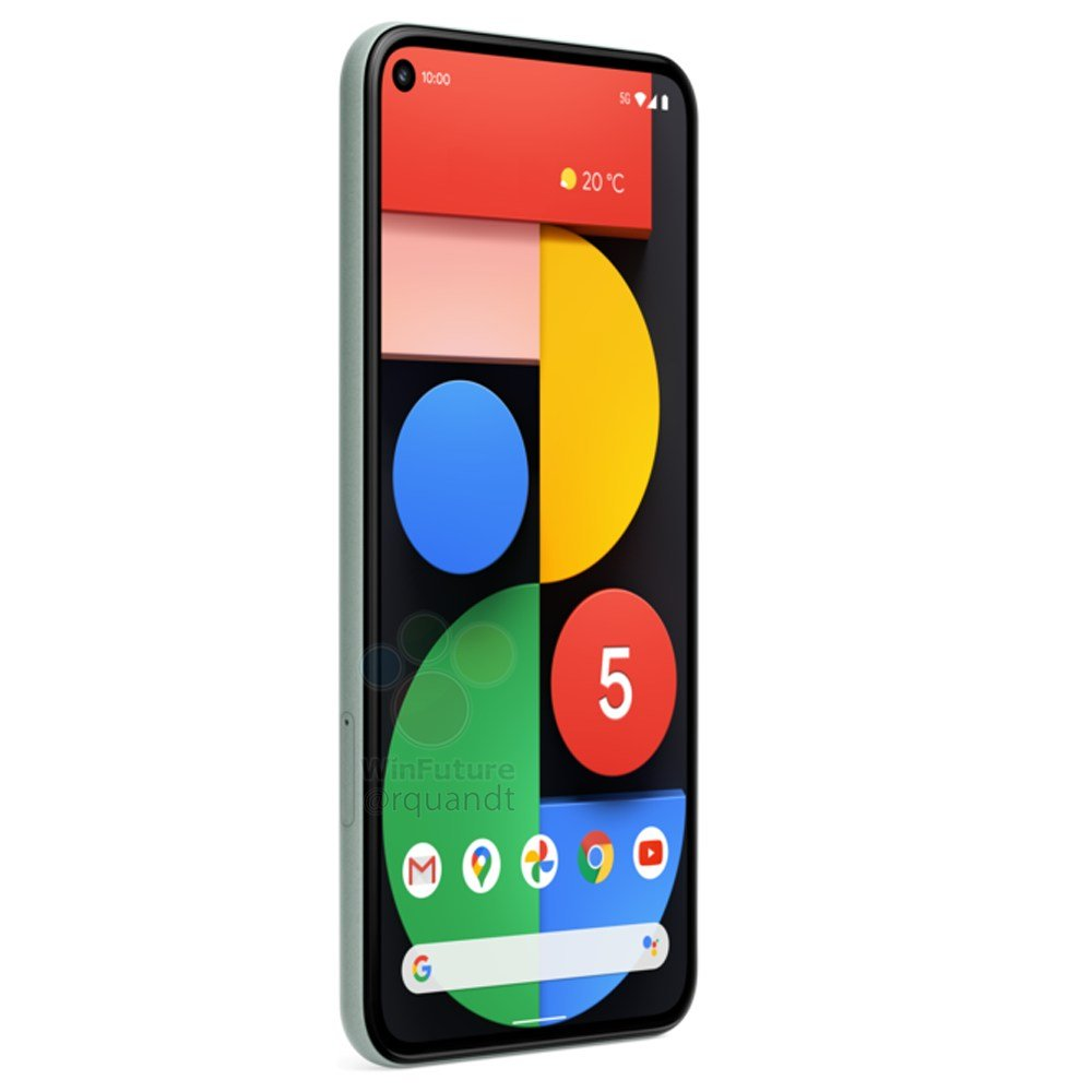Google Pixel 5: Filtración deja ver su diseño y todas su especificaciones