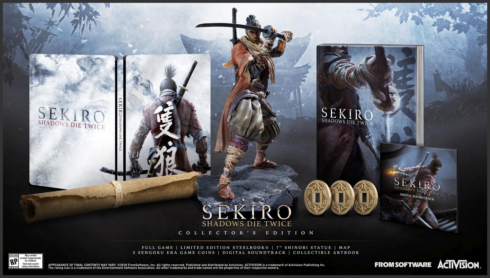 Shadows Die Twice tendrá edición de colección — Sekiro