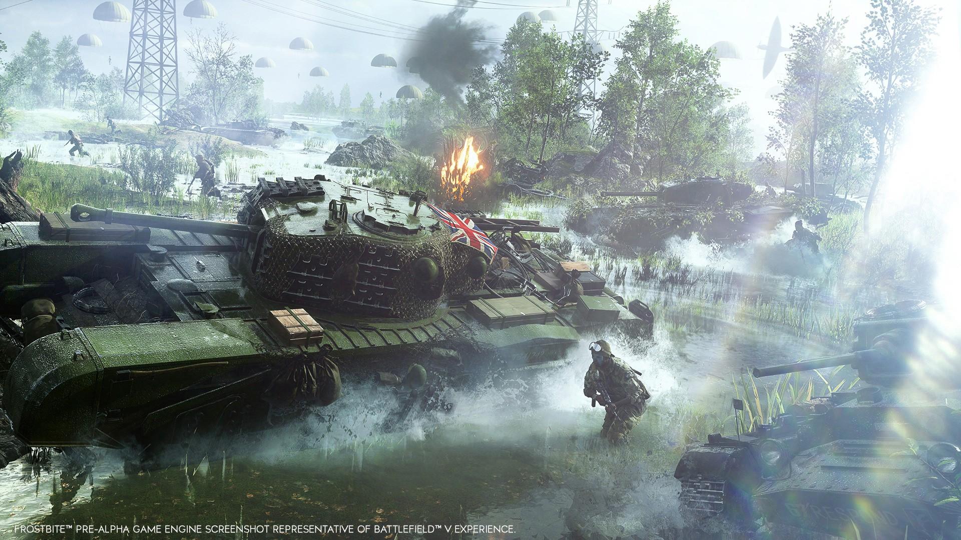 Battlefield V - Fecha de lanzamiento y contenido revelado